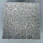 Plat carré ''Kazé'' 22x22